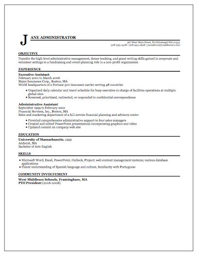 Awesome Resume Position Desired Contemporary - Simple resume .