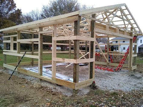 Post Barn Plans