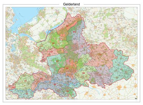 Postcode Gelderland