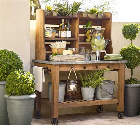 pottery barn outdoor hutch