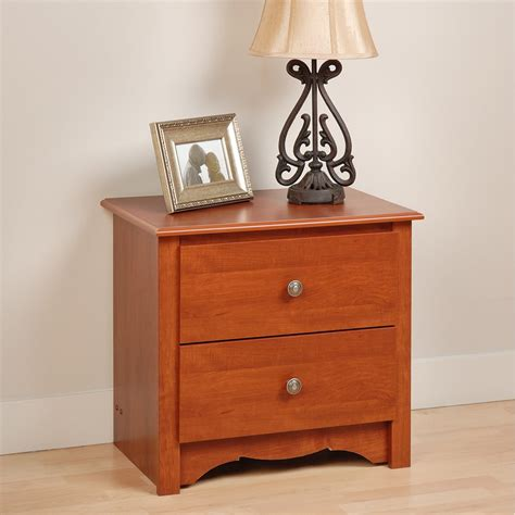 Poulos 2 Drawer Nightstand
