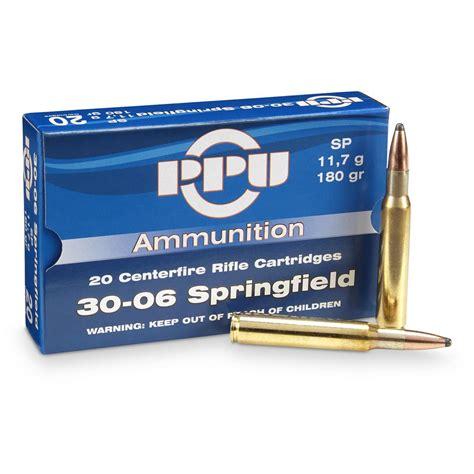 Ammunition Ppu 30-06 Ammunition.