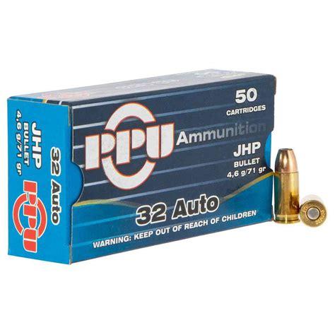 Ammunition Ppu Ammunition 32 Auto.