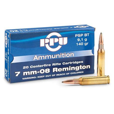 Ammunition Ppu Ammunition 7mm-08.