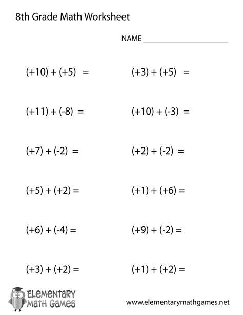 practice math 8th grade