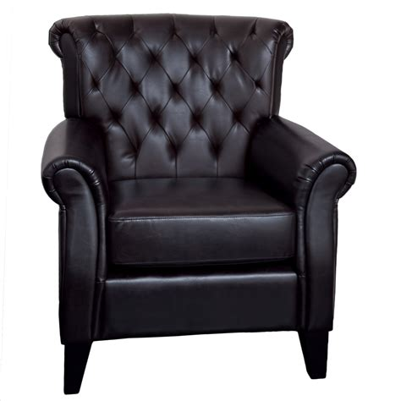 Prague Tufted Club Chair