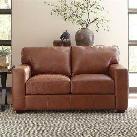 Pratt Leather Loveseat