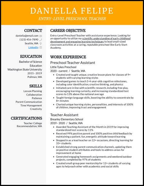 pre k teacher resume objective resume esl teacher free resume samples cover letter - Objective For A Teacher Resume