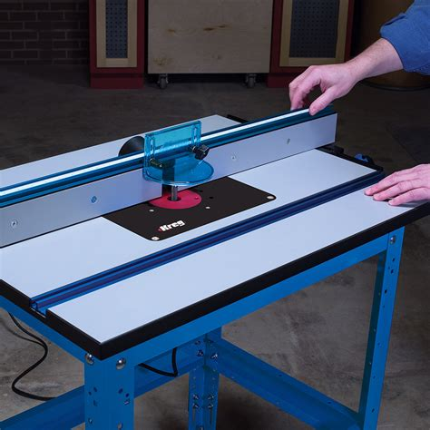 Precision Router Table