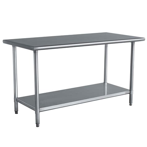 Prep Table with Stainless Steel Top