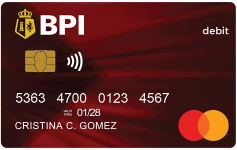 Credit Card Approval Bpi Prepaid Card Application Bpi