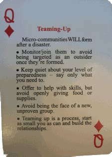 @ Preppers Urban Survival Playing Cards.