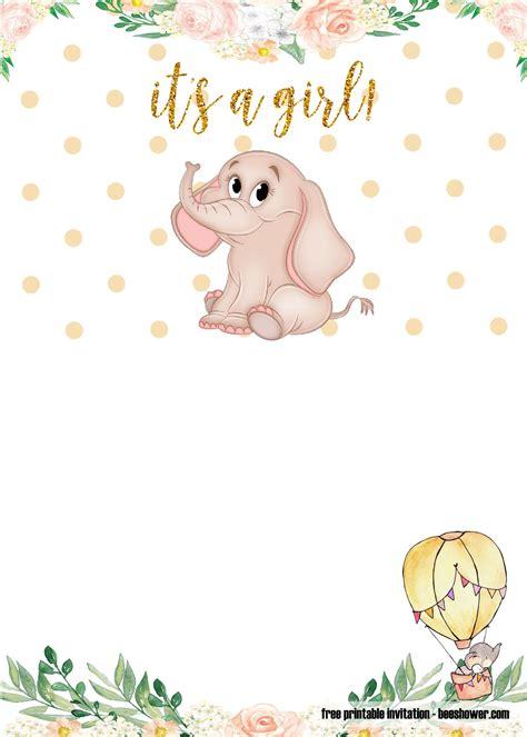 Printable Baby Invitations