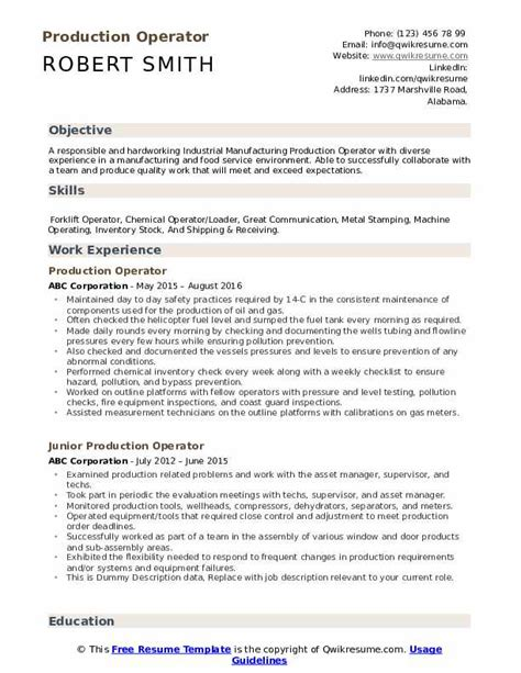 Resume Summary Heavy Equipment Operator How To Send A Letter By Mail