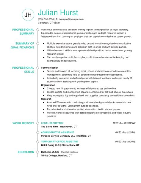 professional legal resume sample best resumes templates best resume samples