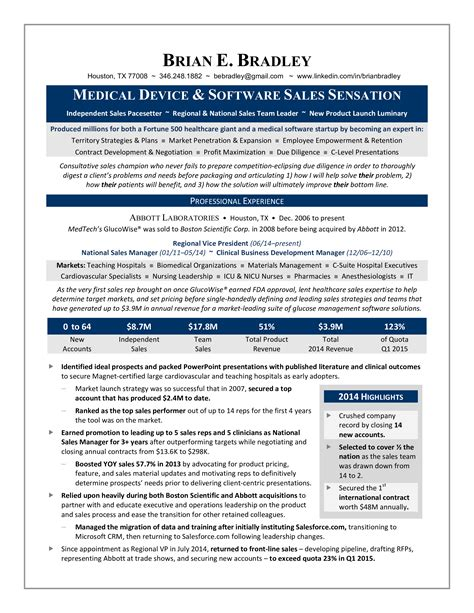 professional medical representative sample resume medical sales resume sample medical sales representative