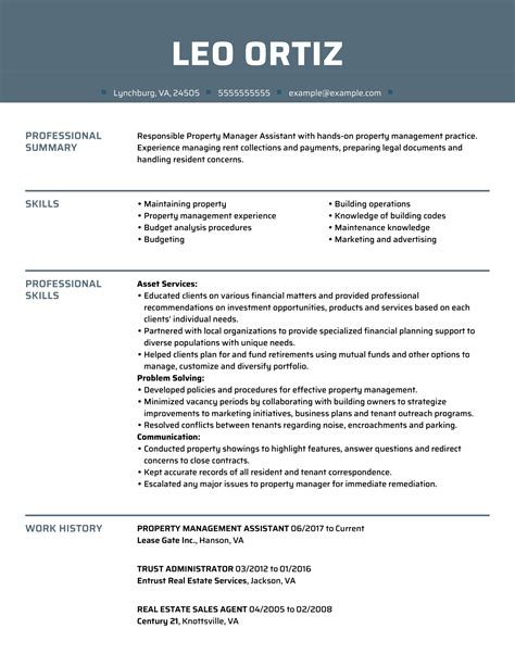 professional resume sample for real estate sales real estate professional resume sample resume builder - Sample Real Estate Resume