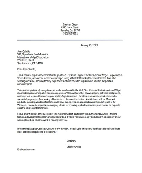 Professional Resume Cover Letter Examples Resume Cover Letter Examples