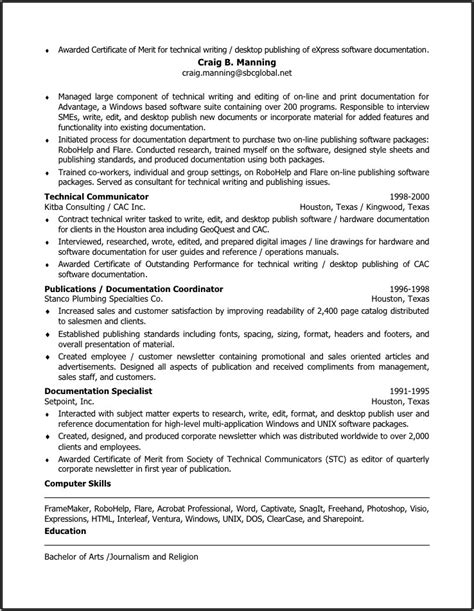resume writing dallas