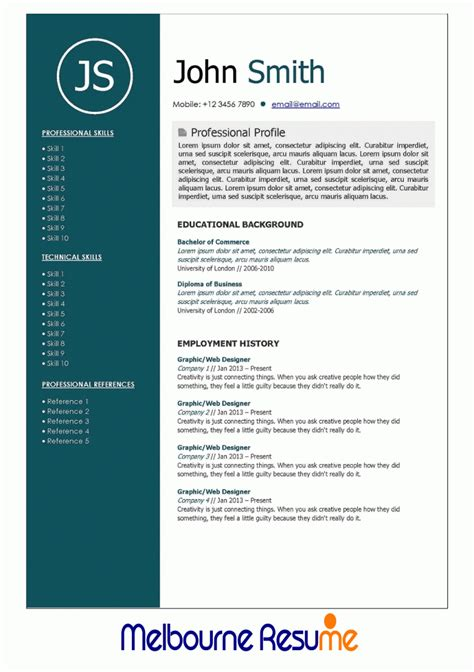 Government Resume federal resume Government Resume Layout Professional Resume Writing Services Melbourne