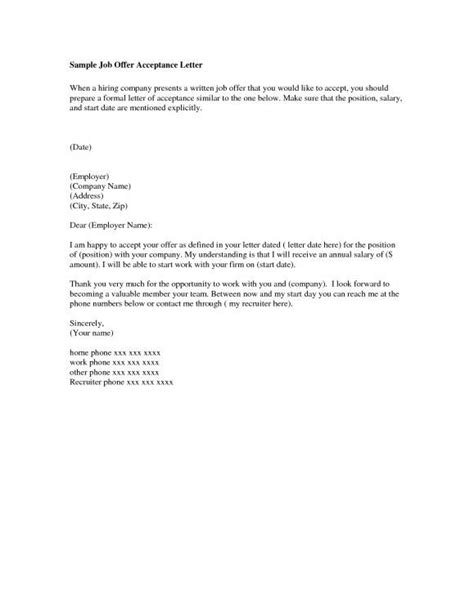 Promotion Letter Of Acceptance Letters To The Editor Oregonian