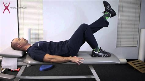 prone hip extension stretch therapist assisted stretch