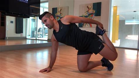 prone hip flexor stretches youtube foam