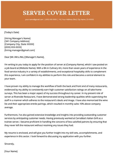 proper resume and cover letter format process server cover letter for resume