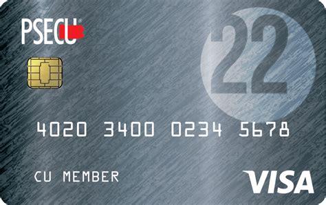Credit Card Access Visa Psecu Visa Credit Card