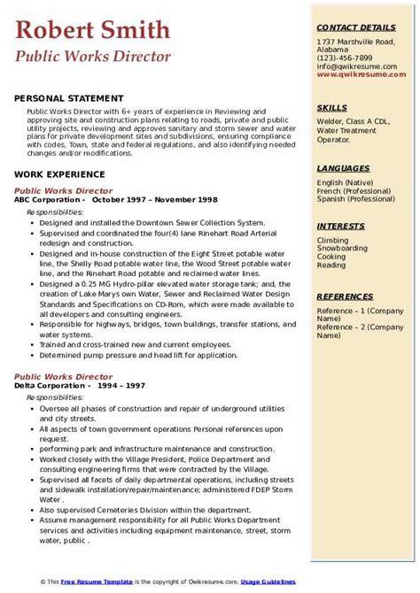 Public Works Resume Sample nice public works director resume sample images resume ideas Project Supervisor Resume Sample Example Good Resume Template Marine Logistics Resume Sales Logistics Lewesmr Logistics Director