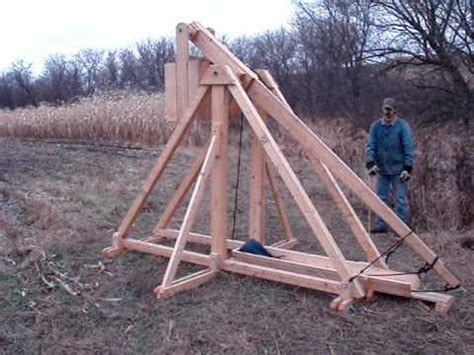 pumpkin throwing trebuchet plans