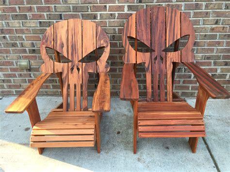 Punisher Adirondack Chair Plans