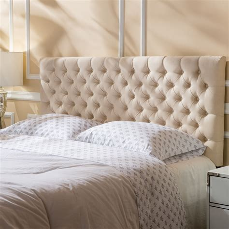 Queen Upholstered Panel Headboard by Monarch Specialties Inc.