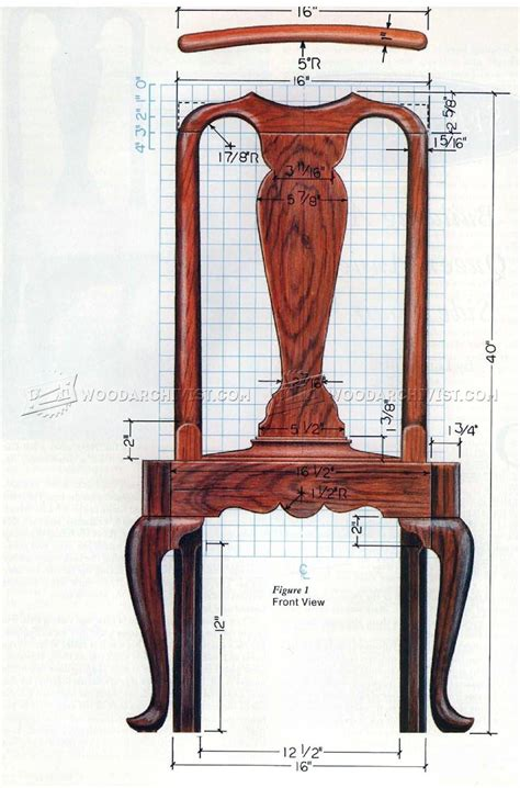 Queen Anne Chair Plans