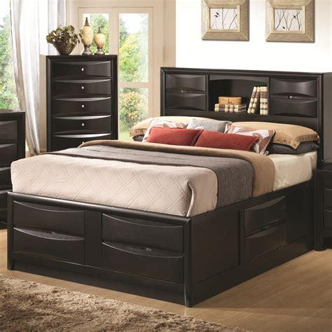 Queen Bed Storage