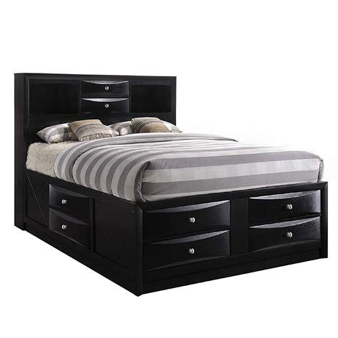 Queen Size Bed Storage