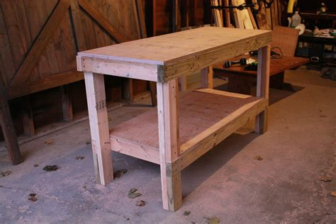 Quick Bench Plans