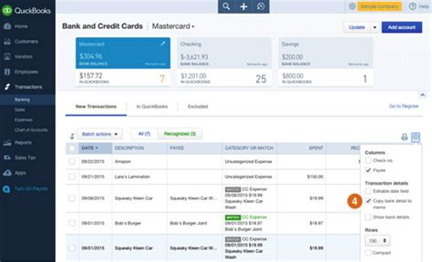 Quickbooks Credit Card Bank Feed Edit Bank Feed Settings For Bank Or Credit Card Accounts
