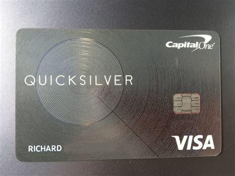 Quicksilver Credit Card For Bad Credit Capital One Quicksilver Credit Card Review Nerdwallet