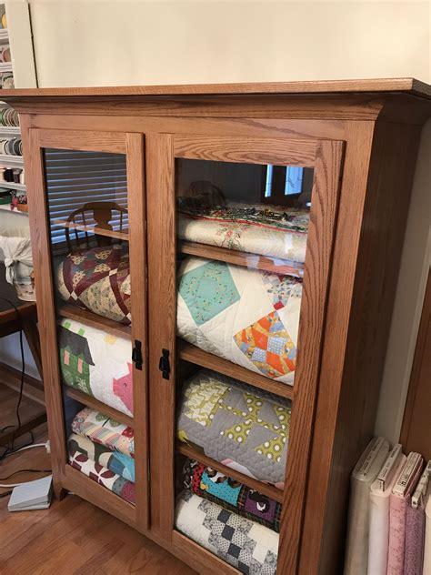 Quilt Cabinet Plans
