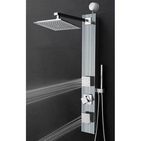 Rainfall Adjustable Head Shower Panel