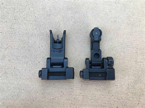 Rainier-Arms Rainier Arms Backup Iron Sights.