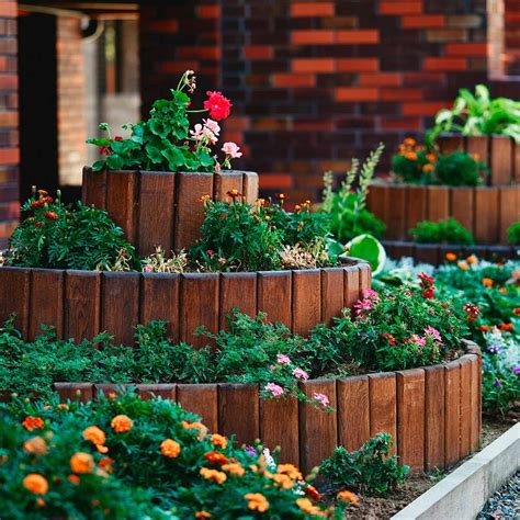raised flower bed ideas and designs