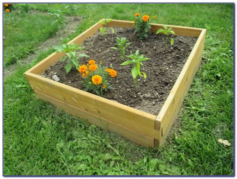raised gardening beds kit menards