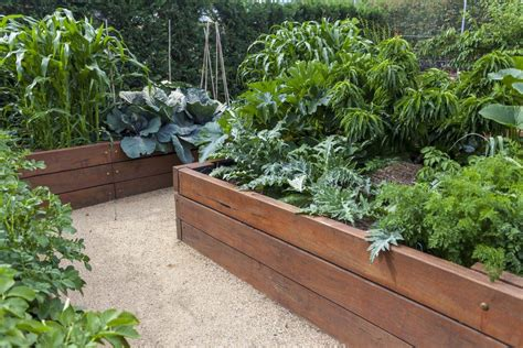raised planting beds material