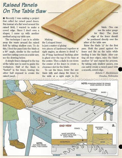 Raised Panel Doors Woodworking Plans