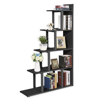 Ramsauer 5 Shelf Ladder Corner Bookcase