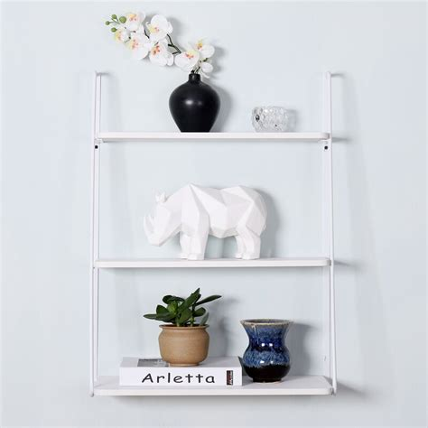 Ranjeet 3-Tier Display Wall Shelf
