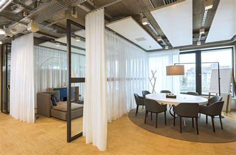 Raumteiler Vorhang Büro