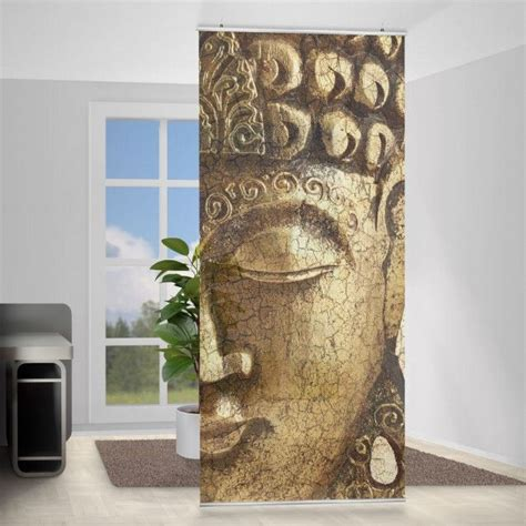 Raumteiler Vorhang Buddha